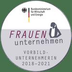 BMWi-Siegel Frauen-unternehmen 2018-2021